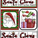 Santa Claus Is/Santa Claus tb - Emailed as JPEG File-Commercial and Personal Use