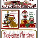 Santa's Workshop/Doggone Christmas tb -  Emailed as JPEG File-Commercial and Personal Use