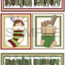 Stocking Stuffers Boy/Girl tb -  Emailed as JPEG File-Commercial and Personal Use