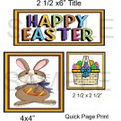 Happy Easter qp -  Emailed as JPEG File-Commercial and Personal Use