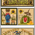 Sunflowers/Harvest Thyme tb -  Emailed as JPEG File-Commercial and Personal Use