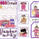 Slumber Party sc -  Emailed as JPEG File-Commercial and Personal Use