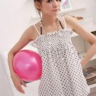 Small Polkadot Black & White