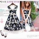 Pretty Black & White Dress