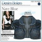Lovely Denim Bolero