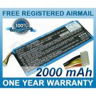 BATTERY FOR CRESTRON TPMC-8X TPMC-8X WIFI 6502269