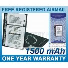 BATTERY FOR HTC P4350 P4351 HERALD 100 ATLAS
