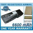 BATTERY FOR DELL LATITUDE 131L INSPIRON 1501 INSPIRON E1505 VOSTRO 1000 INSPIRON 6400