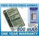 BATTERY FOR SONY NW-HD1 MP3 PLAYER