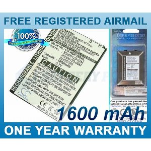EXTENDED BATTERY AT&T BA S390 RHOD160 35H00123-00M 35H00123-02M 35H00123-03M
