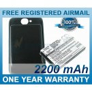 EXTENDED BATTERY FOR HTC WILDFIRE A3333 BEE WILDFIRE 6225 ADR6225 GOOGLE 8