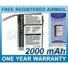 EXTENDED BATTERY FOR GARMIN IQUE 3200 3600 3600A