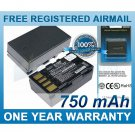 BATTERY JVC BN-VF908 BN-VF908U BN-VF908US WITHOUT CABLE