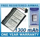 BATTERY FOR TYPHOON MYGUIDE 3500 MOBILE MYGUIDE 3500LIDL GUIDE MYGUIDE 6500 MYGUIDE 6500XL