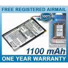 BATTERY FOR MAGELLAN ROADMATE 1212 ROADMATE 1217 ROADMATE 1220 ROADMATE 1230