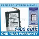 EXTENDED BATTERY NAVMAN 20-00598-07A-CT 20-00598-04A 0512-002617