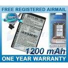 BATTERY FOR NAVIGON 2100 MAX 2120 2120 MAX 2110 MAX 2310 2150 MAX