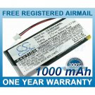 BATTERY FOR NAVIGON SKYWAY NAVI-3540 SKYWAY NAVI-3540 EASY