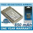 BATTERY FOR MINOLTA DIMAGE G400 DIMAGE G500 DIMAGE G530 DIMAGE G600 DIGITAL REVIO KD-510