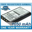 BATTERY FOR PANASONIC WX-H3030 WX-T3020 ATTUNE 3020 ATTUNE 3050