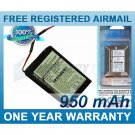 BATTERY FOR TOMTOM ONE 125 ONE 130 ONE 130S