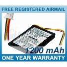 BATTERY FOR TOMTOM ONE ONE EUROPE ONE REGIONAL RIDER ONE XL EUROPE ONE XL DACH TML ONE 3RD EDITION