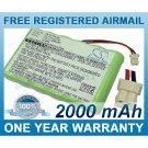 BATTERY FOR VERIFONE NURIT 3010