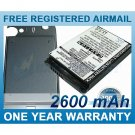 EXTENDED BATTERY HTC 35H00077-00M 35H00077-02M TRIN160