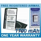 BATTERY FOR HTC WAYLLABY SPACE NEEDLE POCKET PC PHONE 9500
