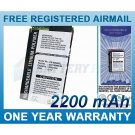 EXTENDED BATTERY FOR HTC WAYLLABY SPACE NEEDLE POCKET PC PHONE 9500