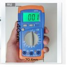 DMM Palm-Size Digital Multimeter / A830L Voltage Vdc Current Ohm Meter + Probes