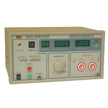 RK2671A DC AC Hipot Tester Meter 5/10kV Safety 220V AC Lab Test Tool