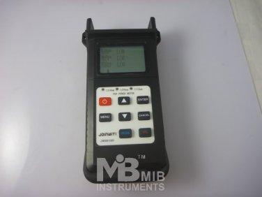 JW3212B  FTTx/PON Optical Power Meter USB Handheld Optical Light Source