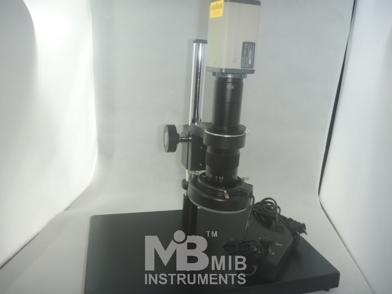 Industrial Inspection Zoom Video VGA Microscope 150x