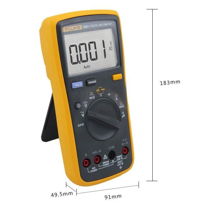 Fluke Dmm Meter : Fluke f b digital multimeter meter dmm voltmeter ohm