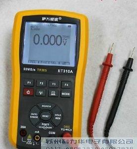 Handheld 10MHz 50MSa/s Oscilloscope Scopemeter & True RMS Multimeter 2in1 USB