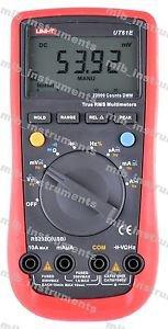 UNI-T UT-61E Modern Digital Multimeter UT61E AC DC Meter Popular Voltmeter bUSA