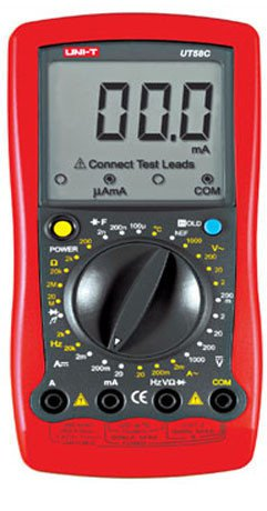 UT58C Standard Electrical Meter Digital Multimeter