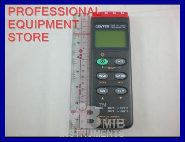 CENTER309 Thermometer k Type/ Four Channels/Datalogger