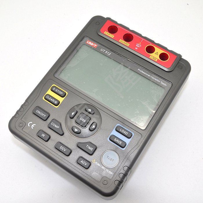 Digital Megger UT512 Digital Insulation Resistance Tester Meter