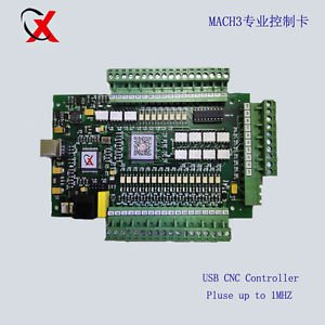 Hi-Speed Mach3 USB CNC 3-Axis Motor Stepper Drive Control Board Pulse upto 1Mhz