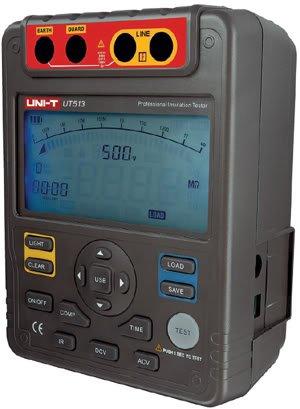 New UNI-T UT513 Digital Insulation Resistance Tester