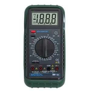MY65 3 1/2 Digital Multimeter DMM AC/DC/Ω/uF/Hz