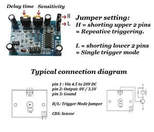 5pcs IR Motion Detector Sensor Module HC- SR501 Human Body Movement Detector