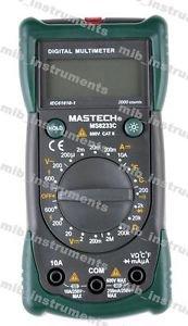 MS8233C Digital Multimeter Backlight Voltage Detector