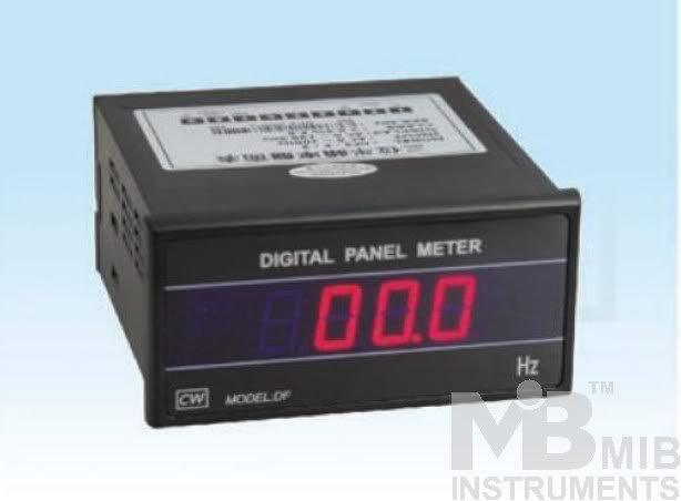 New 3 1/2 AC Frequency meter Digital Panel Meter