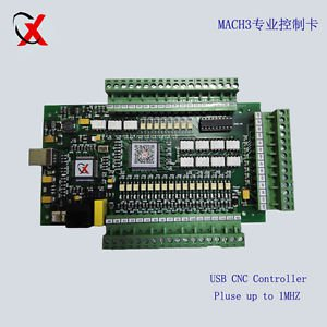 Hi-Speed Mach3 USB CNC 4-Axis Motor Stepper Drive Control Board Pulse upto 1Mhz