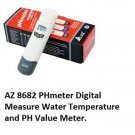 Water Quality Tester Pen type  Ph/Temp.meter AZ-8682 PHmeter