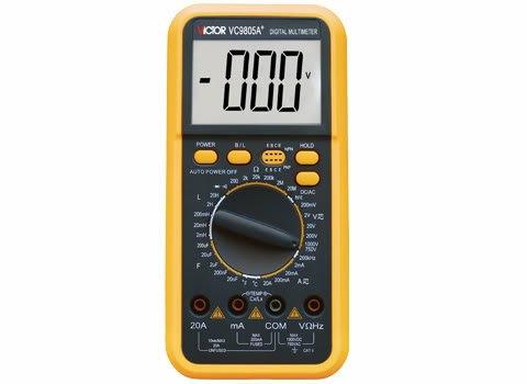 DMM VICTOR VC9805A Digital Multimeter Electrical Meter