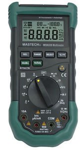 MS8228 Digital Multimeter with Infrared Thermometer Voltmeter Ohometer Ampmeter